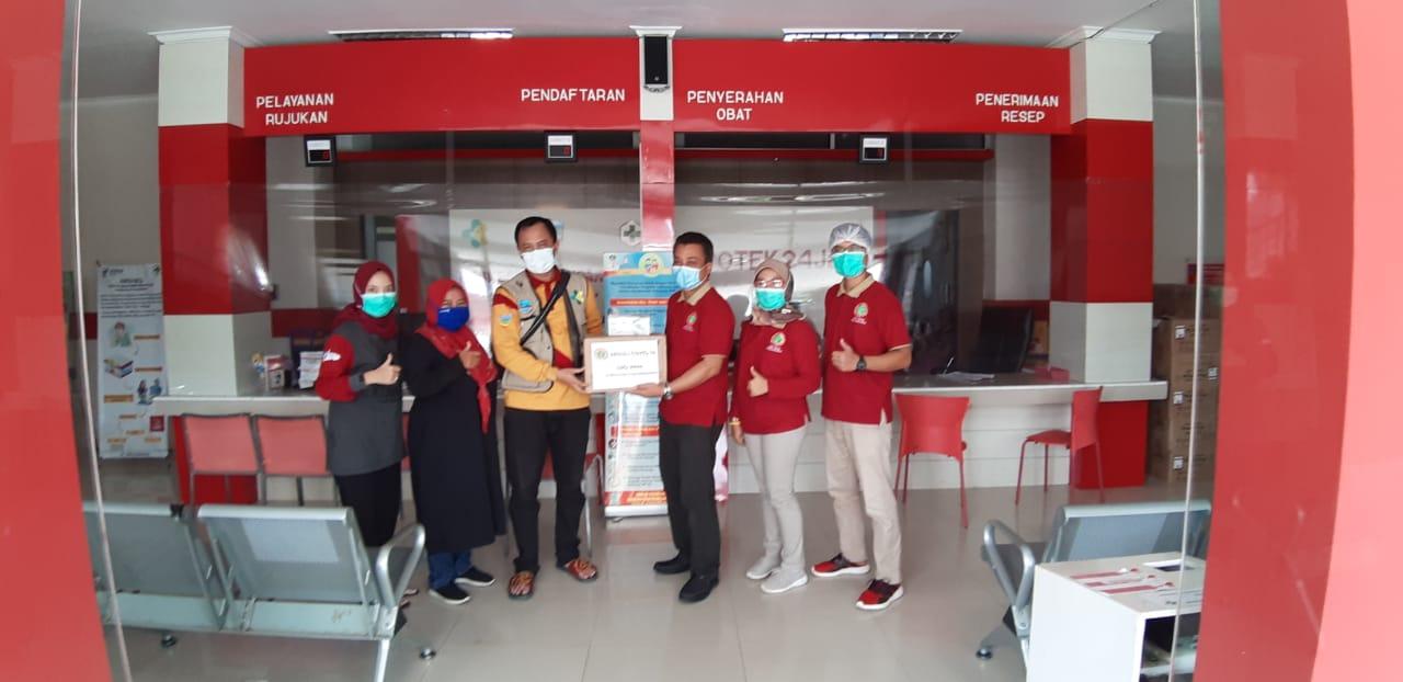 Read more about the article Peduli Covid-19, DPD PPNI Kabupaten Pangandaran dukung sejawat untuk tetap semangat dan selalu menggunakan APD ketika bertugas