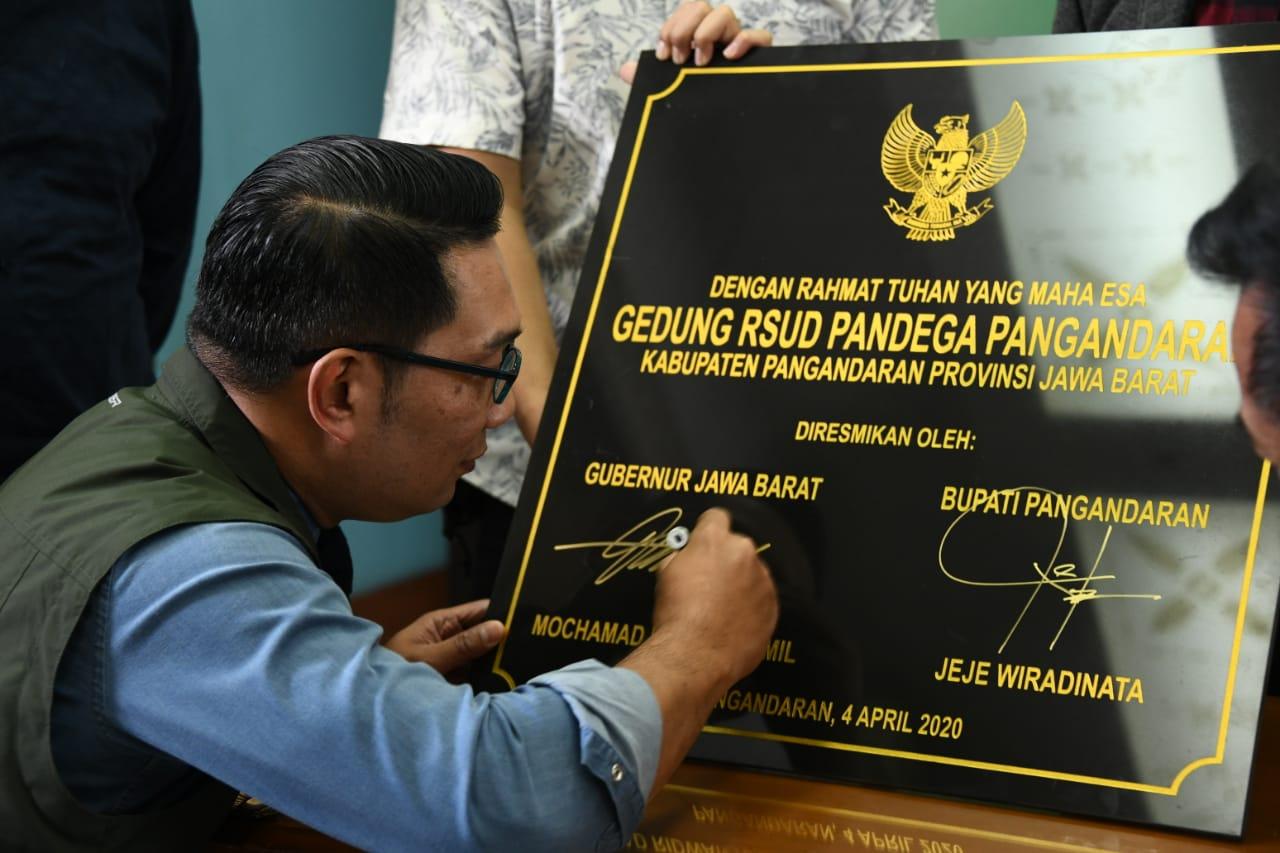 You are currently viewing RSUD PANDEGA PANGANDARAN DIRESMIKAN